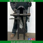 Monster Vise French 224 Lb Jaw 8and0391/2 - Anvil - Id 2441