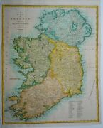 Antique Map Of Ireland By John Cary 1789