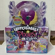 📀 Hatchimals - Pixies Riders - Lilac Luna And Swanling Glider - Spinmaster