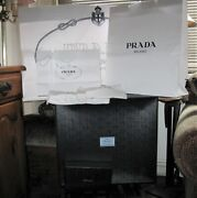 Prada Huge Assorted Lot Of Boxes Felt Bags Shopping Bags Wrapping Paper Etc