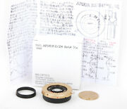 Ms-optics Aporia 24mm F/2 Gold For Leica M Lens Tested Working Near Mint Rare
