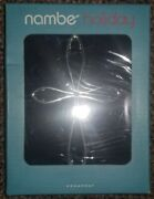 Nambe Cross Christmas Ornament New In Box Silver 2015