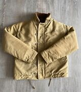 Rare Very Good Condition Vintage 1940's Wwii Usn N-1 Deck Jacket Stenciled