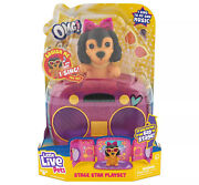 Little Live Omg Pets Stage Star Playset Series 3