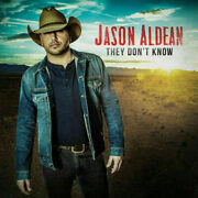Jason Aldean – They Don't Know Cd Very Good Condition