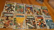Defenders J.m. Dematteis Huge Lot Of 35 Issues Gargoyle First Appearance