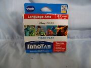 Vtech Innotab Pixar Play Language Arts Game For Ages 4-7yrs Pre-k-1st New