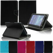 Universal Solid Leather Protective Flip Case Cover For All 9.7-10.5inch Tablet