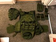Fort Emerald Defender 2 And Full Pouch Set Size 58-5 No Soft Armour Or Platesandnbspandnbsp
