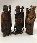 Lobeco Handcrafted Figurines, Made In Italy- Set Of 3