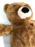 House Of Lloyd - Rare - Talk To Me Teddy Bear 9v Heart And Repeat Recorder Work