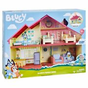 Blueys Family Home Playset With Bluey Figure