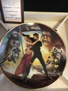 Star Wars Collectible Plate From Hamilton Collection Return Of The Jedi 1994