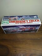 Hess 2005 Emergency Fire Truck With Rescue Vehicle New