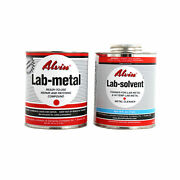 Alvin 24 Oz Lab Metal And 16 Oz Lab Solvent Dent Filler And Patching Compound Epoxy