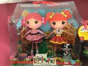 Lalaloopsy Doll Pair Full Size Toffee Cocoa Cuddles And Ember Flicker Flame Nib