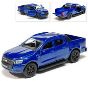 Ford Ranger Pickup Metal Model Diecast Car Scale Collectible Toy Cars 1 1/36