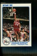 1985 Star Team Supers 5 X 7 Ps8 Charles Barkley Rookie Year Issue Mint