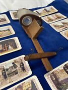 Underwood 1902 Stereograph World View Real Stereoview Card Viewer W/146 Cards