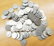 Lot Of 116 Canada Canadian Nickels King George V 1927-1936 Vintage 5 Cent Coins