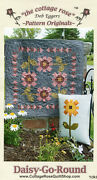 Daisy-go-round Quilt Pattern By The Cottage Rose