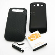7500mah Extended Battery Hard Cover Tpu Case For Samsung Galaxy S3 R530 I9300