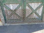Scarce Old Vintage Cast Iron Horse Stall Divider Top Grate Architectural Salvage
