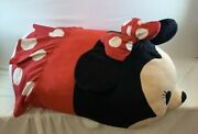 Disney Store Mickey And Minnie Mouse Super-huge Tsum Tsum Plush Pillow