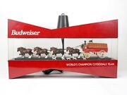 Budweiser World's Champion Clydesdale Team 1993 Lighted Sign Local Pickup Only