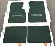Fit For Chevy Impala Hot Rod Lowrider Oldschool Floor Mats Carpet Green 1959-66