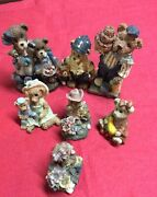 Lot Of 7 Vintage Boyd Bears And Friends Family Dollar Service 2002/2003