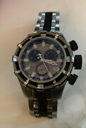 Collectible Reserve Bolt Chronograph Stainless Steel Men's Watch 5627