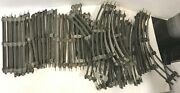 Lot39 O27 Gauge Lionel Train Track 21 Curved Right And 18 Straight Free Ship