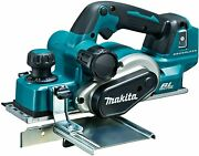 Makita 82x3mm 18v Brushless 12000rpm Electric Wood Planer Kp181dz Body Only