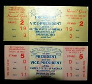 2 Lyndon Johnson Inauguration Tickets ✪ Honored Guest ✪ 1965 Vice ◢trusted◣