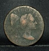 1795 Large Cent ✪ Vf Very Fine ✪ 1c Flowing Hair Details L@@k Now K26 ◢trusted◣