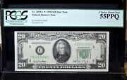1950 20 Federal Reserve Star Note ✪ Pcgs Au-55-ppq ✪ Epq Fr 2059-c ◢trusted◣