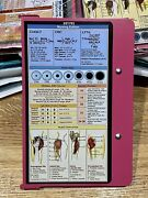 Nursing Reference Edition White Coat Folding Medical Clipboard Pink-high Quality