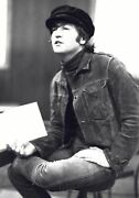 Beatles John Lennon Rubber Soul Inspired Brown Suede Leather Jacket