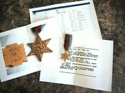 Wwii 1939-1945 Star Medal - Named South African Doctor D. T. Maclay