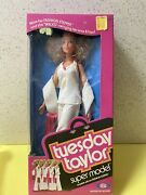 Vintage Ideal Tuesday Taylor Super Model Doll 1978 Brand New In Box Nrfb Mib