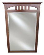 """Ethan Allen American Impressions Large Beveled Wall Mirror 46x30"""" 24-5400 224"""