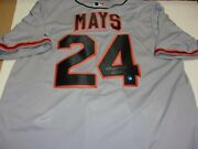 Willie Mays Sanfrancisco Giants 660 Say Hey/coa Signed Official Licensed Jersey
