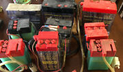 Lot Of 9 Wisco Enerjet Battery Moped Scooter Honda Japanese Rare New Old Stock