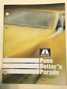1971 Autosport Shelby Catalog With Dealer List And Price Schedule