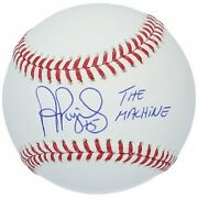 Albert Pujols St. Louis Cardinals Signed Baseball With The Machine Insc