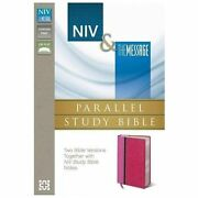 Niv And The Message Parallel Study Bible By Zondervan Staff 2013, Imitation ...