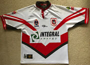 046 Vintage Rare St George Dragons Jersey Classic Telstra Nrl Mens Size Large
