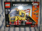 New 8109 Lego Technic Flatbed Truck Power Functions Building Toy Retired A