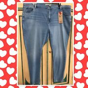 Nwt Levi Strauss Leviandrsquos 720 High Rise Super Skinny Womenandrsquos Jeans Size 26w 4x